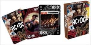 Jeu de Cartes AC/DC - Jeu Musical - Accessoire - laflutedepan.com