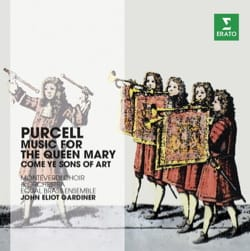 Music for Queen Mary - Gardiner - Henry PURCELL - laflutedepan.com