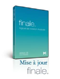 Logiciel FINALE 25 - MISE A JOUR - FINALE 25 - laflutedepan.com