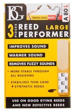 Booster d'anche BG-A80L pour Saxophone Ténor, Baryton et Clarinette Basse (Lot d laflutedepan