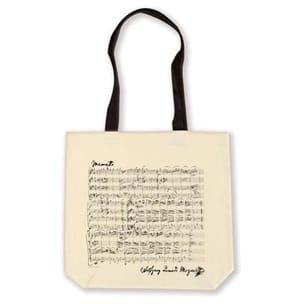 Sac Musique en coton - MOZART - Shopper bag laflutedepan