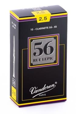 Vandoren CR5025 - Anches LEPIC Clarinette Si bémol 2.0 laflutedepan