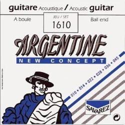 Cordes Argentine Guitare manouche à boule Extra Light 010-045 laflutedepan