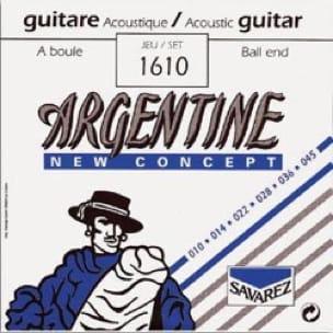 Cordes Argentine Guitare manouche à boule Extra Light 010-045 - laflutedepan.com