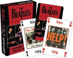 Jeu de Cartes THE BEATLES - SINGLES - Jeu Musical - laflutedepan.com