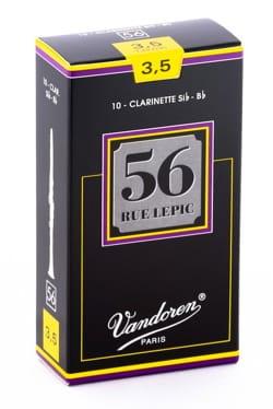 Vandoren CR5035 - Anches LEPIC Clarinette Si bémol 3.5 laflutedepan