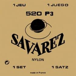Cordes Savarez Guitare classique Concert 520 P3 laflutedepan