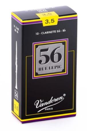 Vandoren CR5035 - Anches LEPIC Clarinette Si bémol 3.5 - laflutedepan.com