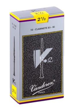 Vandoren CR1925 - Anches V12 Clarinette Si bémol 2.5 laflutedepan