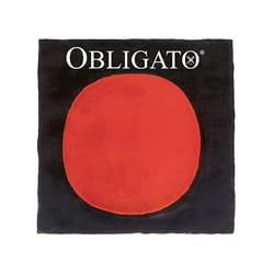 Corde violon OBLIGATO avec RÉ Argent boule, tirant moyen laflutedepan