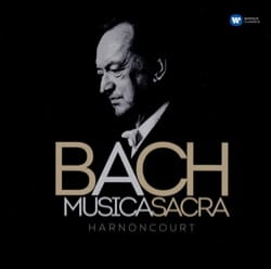 MUSICA SACRA - HARNONCOURT Jean-Sébastien BACH Accessoire laflutedepan