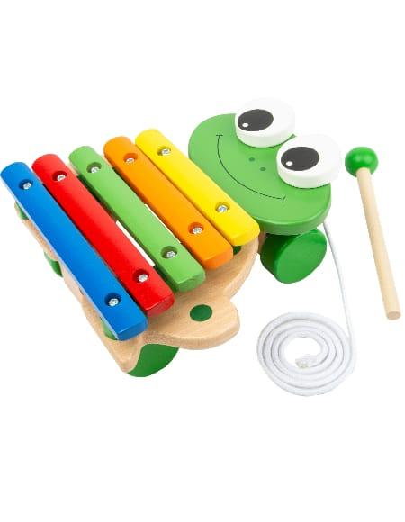 Xylophone Grenouille - Jeu musical pour enfant - laflutedepan.com