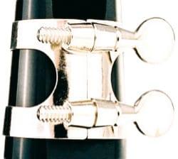 Ligature SML métal nickelé pour Clarinette Sib laflutedepan