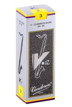 Vandoren CR623 - Anches V12 Clarinette Basse 3.0 laflutedepan