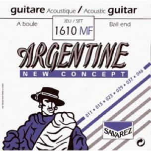 Cordes Argentine Guitare manouche à boule Light 011-046 - laflutedepan.com