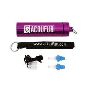 Protections auditives ACOUFUN - 20dB Junior - laflutedepan.com