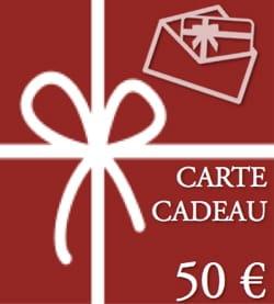BON CADEAU - CARTE CADEAU - Valeur de 50 € BON CADEAU laflutedepan
