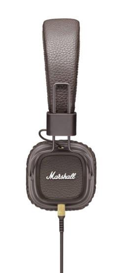 Casque Marshall Major MKII marron pour iphone, iPod, MP3 - laflutedepan.com