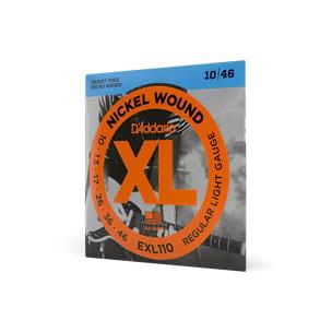 Cordes pour Guitare - ADDARIO EXL110 String Set Electric Guitar Regular Light - Accessoire - di-arezzo.co.uk