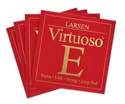 Jeu de cordes Larsen (Mi avec boule) Violon Virtuoso Fort laflutedepan