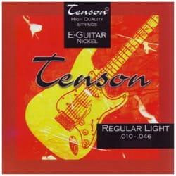 Cordes pour Guitare - Gewa Tenson Nickel E-Gitarre String Set - Spiel 010-046 - Accessoire - di-arezzo.de
