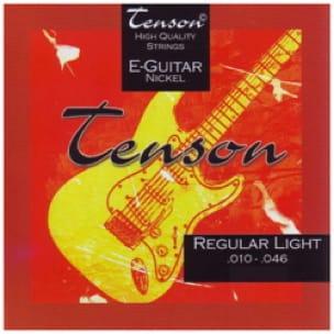 Jeu de cordes guitare électrique Gewa Tenson Nickel - Jeu 010-046 - laflutedepan.com