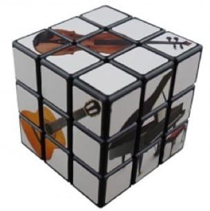 Rubik's Cube Musique - Cadeaux - Musique - laflutedepan.com