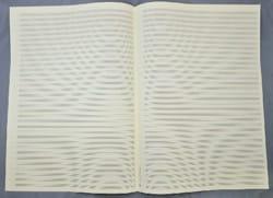 Papier à Musique - Papier à Musique - 34 portées - Grand Format - Papier - di-arezzo.fr