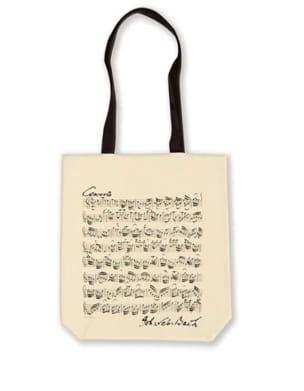 Sac Shopping en coton - BACH Cadeaux - Musique Accessoire laflutedepan