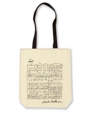 Cadeaux - Musique - Bolso De Compras De Algodón - Beethoven - Accessoire - di-arezzo.es
