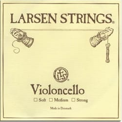 Corde de LA LARSEN VIOLONCELLE médium Solist Edition laflutedepan