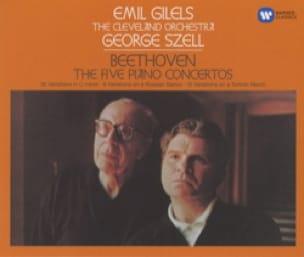 Beethoven: les 5 Concertos pour Piano - Emil GILELS - laflutedepan.com