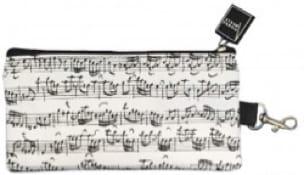 Trousse blanche notes de musique - laflutedepan.com