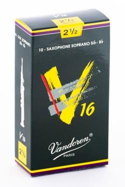 Vandoren SR7125 - Anches Saxophone Soprano - 2.5 laflutedepan