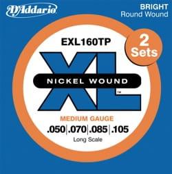 Cordes pour Guitare - ADDARIO String Set for Bass Guitar EXL160 RW 50/105 Medium - Accessoire - di-arezzo.co.uk