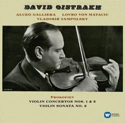 Concertos pour Violon 1 & 2 - Sonate N° 2 par D. OISTRAKH - laflutedepan.com