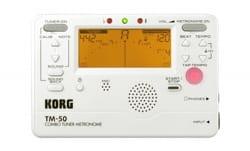 Accordeur & Métronome - TM-50 WHITE KORG - Metronom und Tuner - Accessoire - di-arezzo.de
