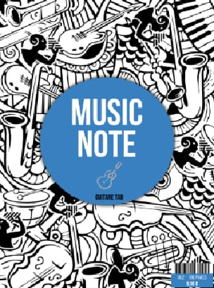 Cahier de Musique Tablature Guitare - laflutedepan.be