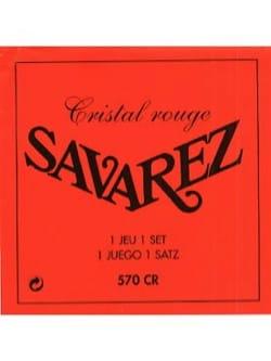 Cordes pour Guitare Classique - ギター弦セットSAVAREZ CRYSTAL REDスタンダードプル - Accessoire - di-arezzo.jp