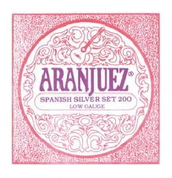 Cordes pour Guitare ARANJUEZ - Juego de cuerdas para guitarra ARANJUEZ AR200 Juego de tira de plata española - Accessoire - di-arezzo.es