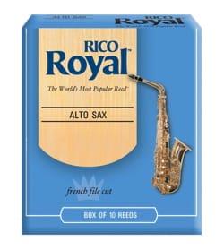 D'Addario Rico Royal - Anches Saxophone Alto 2.0 laflutedepan
