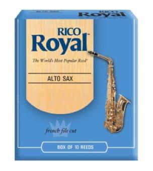 D'Addario Rico Royal - Anches Saxophone Alto 3.0 - laflutedepan.com