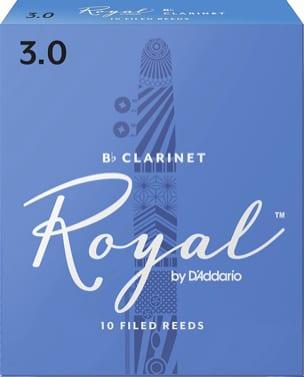 D'Addario Rico Royal - Anches Clarinette Sib 3.0 laflutedepan
