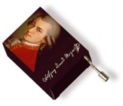 Cadeaux - Musique - Boîte à musique Mozart - Une petite musique de nuit - Accessoire - di-arezzo.fr
