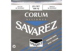 Cordes pour Guitare Classique - JEU de Cordes pour Guitare SAVAREZ ALLIANCE CORUM BLEU tirant fort - Accessoire - di-arezzo.ch
