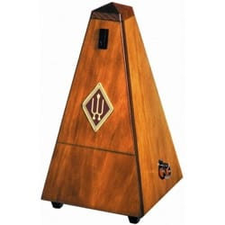 Métronome Mécanique WITTNER® - WITTNER Metronome: WOOD WALNUT MAT - With striking - Accessoire - di-arezzo.co.uk