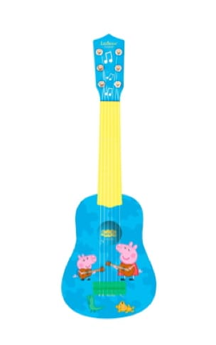 Ma Première Guitare Peppa Pig 53 cm - laflutedepan.com