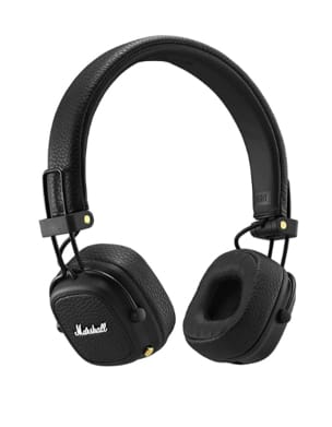 Casque Bluetooth Marshall Major 3 Noir laflutedepan