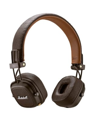 Accessoire pour Musicien - Marshall Major 3 Brown Bluetooth Headset - Accessoire - di-arezzo.co.uk