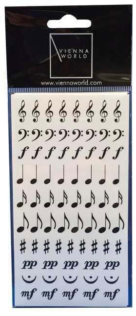 Stickers symboles musicaux Cadeaux - Musique Accessoire laflutedepan